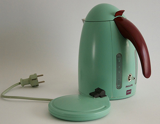Philips Alessi Coffee Maker : Philips Alessi Water Kettle HD2001 NLStudio Second Life
