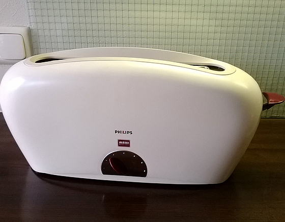 Philips Alessi Coffee Maker : Philips Alessi Toaster HD2000 NLStudio Second Life